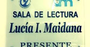 Lucía Maidana ¡presente!