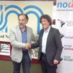 "Pedro Brieger presentó en Posadas ""NODAL Web"""