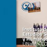 """Gorosito: """"El Instituto de Estudios Sociales y Humanos apunta al crecimiento"""""""