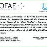 Jornada de Extensión Universitaria en la UNaM