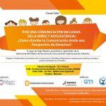 """Realizarán un taller para comunicar sobre infancia y adolescencia con """"Perspectiva de Derechos"""""""