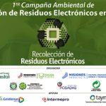 1° Seminario de Gestión, Valorización y Desafíos para los Residuos Electrónicos en Misiones