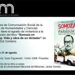 """Presentarán el libro """"Somoza en Paraguay. Vida y muerte de un dictador"""", escrito por una egresada de Comunicación"""