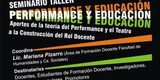 """Seminario abierto sobre """"Performance y Educación"""""""