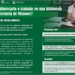 Cursos de capacitación para bibliotecarios y agentes de bibliotecas de Misiones