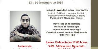 Se viene el Encuentro sobre Antropo-Semiótica de la Muerte y el Morir 2016