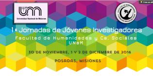 """Prórroga para la presentación de trabajos a las """"1º Jornadas de Jóvenes Investigadores/as"""" de la FHyCS"""