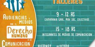 Realizarán talleres sobre el derecho a la comunicación con públicos e integrantes de medios de la zona norte de Misiones