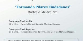 """Jornada de capacitación política """"Formando Pilares Ciudadanos"""""""
