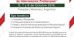 Conferencia de Prensa sobre las XXV Jornadas Nacionales de la Red Universitaria de Educación Especial RUEDES