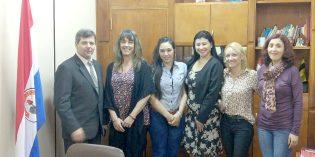 Contingente de la FHyCS visitó la Universidad Nacional de Itapúa