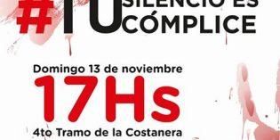 """Campaña contra la violencia de género: """"Tú silencio es cómplice"""""""