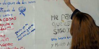 """Encuentro de """"Palabra poética y Rock"""" con jóvenes en Posadas"""