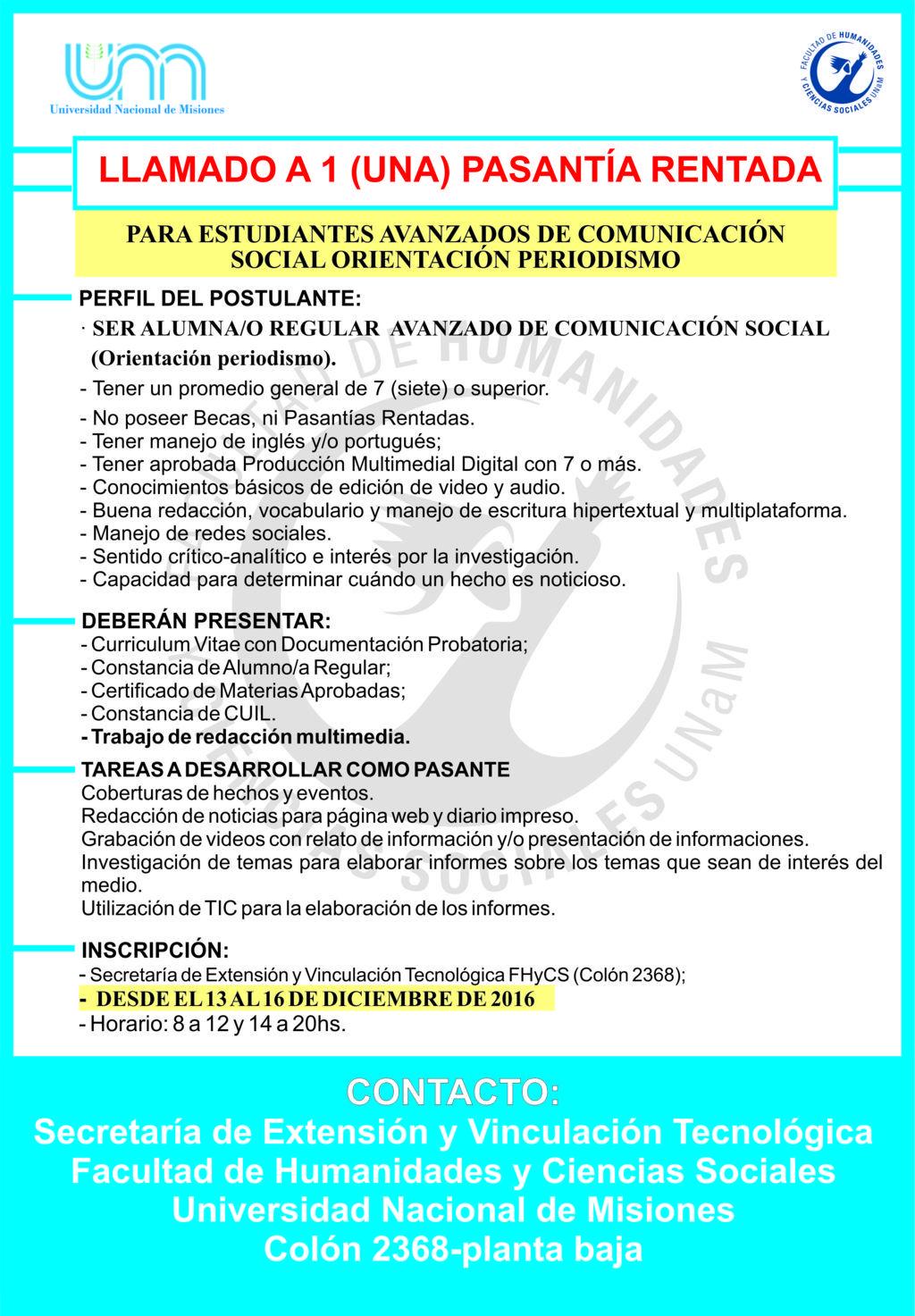 Perfecto Currículum Para Pasantías Estudiante Colección - Colección ...