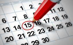 Calendario Académico de la Dirección de Postítulo Docente
