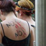 Fotos: Así fue la marcha multitudinaria por el Día Internacional de la Mujer en Posadas