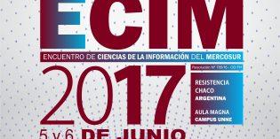 Encuentro de Ciencias de la Información del MERCOSUR ECIM 2017