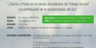 Curso de Actualización Profesional para Trabajadorxs Sociales