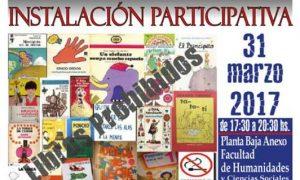 Intervención participativa sobre obras censuradas en la última dictadura