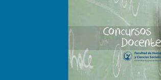 Llamado a concurso para nueve cargos docentes