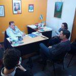 Gestionan la apertura de una nueva extensión áulica de la FHyCS en Campo Ramón