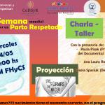 Charla-taller por un parto respetado en la FHyCS
