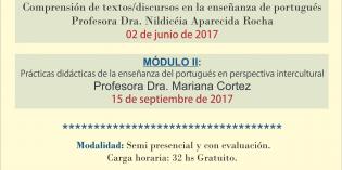 Seminario de Posgrado: Textos e discursos: perspectiva intercultural