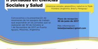 Prórroga para resúmenes de las Jornadas INMET 2017