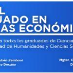 Hoy se conmemoró el día del graduado en Ciencias Económicas