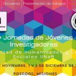 ISSN Jornadas Jóvenes Investigadores