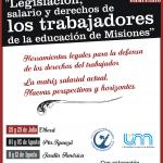 Seminario sobre leyes y derechos de los trabajadores de la educación de Misiones