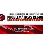 Inscripciones online al XXXVII Encuentro de Geohistoria Regional