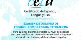 Inscriben para el examen de Certificación Oficial de Español como Lengua Extranjera en la UNaM