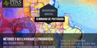 Rosana Guber dictará su tradicional seminario de posgrado