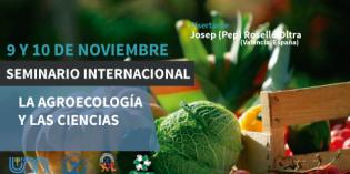 """Realizarán seminario internacional sobre """"agroecología y las ciencias"""""""