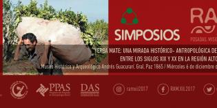"""RAM 2017: debatirán sobre la Yerba Mate """"una mirada histórico- antropológica de la actividad"""""""
