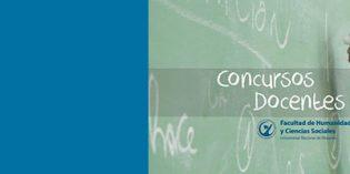 Concursos Docentes en la FHyCS