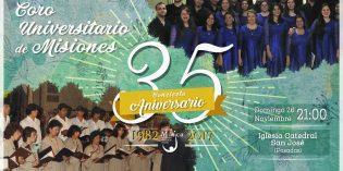 Concierto por el 35º aniversario del Coro de la UNaM