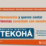 """Sigue abierta la convocatoria para publicar en la revista """"Tekohá"""""""