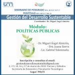 Dictarán nuevo curso desde el proyecto en Gestión del Desarrollo Sustentable en la FHyCS