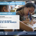 Está abierto el llamado a adscripciones para el departamento de Antropología