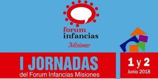 Se realizarán las primeras jornadas de Forum Infancias Misiones en Posadas