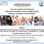Inscriben a curso sobre gerontología