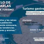 Charla abierta y gratuita sobre Turismo gastronómico en la FHyCS