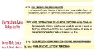 Realizarán Jornadas por el Día del Periodista en la FHyCS