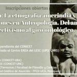 Inscriben a seminario sobre etnografía amerindia