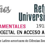 A 100 años de la Reforma Universitaria: repositorio en acceso abierto CLACSO y UNIPE
