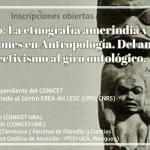 Dictarán seminario de posgrado sobre  Etnografía Amerindia