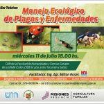 Taller de Manejo Ecológico de Plagas y Enfermedades en la FHyCS