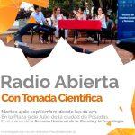 Se hará una radio abierta por la Semana de la Ciencia